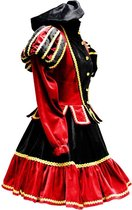 Piet Murcia Jurkje zwart/rood : S