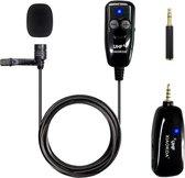 Dasspeld microfoon draadloos voor mobiel - videocamera | clip on spraakmicrofoon | Iphone - Android | Draadloze Lavalier Microphone XIAOKOA
