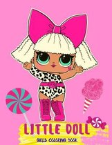 Little Doll: Coloring Book