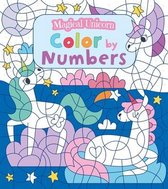 Magical Unicorn Color by Numbers