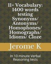 11+ Vocabulary