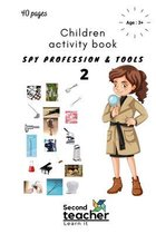 Spy Profession and Tools;children Activity Book-2