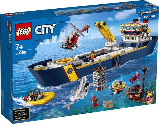 LEGO City Oceaan Onderzoeksschip - 60266