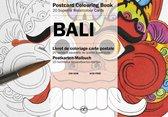 Bali - Postcard Colouring Book