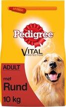 Pedigree Adult Hondenbrokken - Rund - Hondenvoer - 10 kg