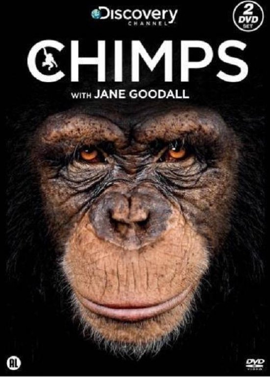 Cover van de film 'Chimps - Jane Goodall'