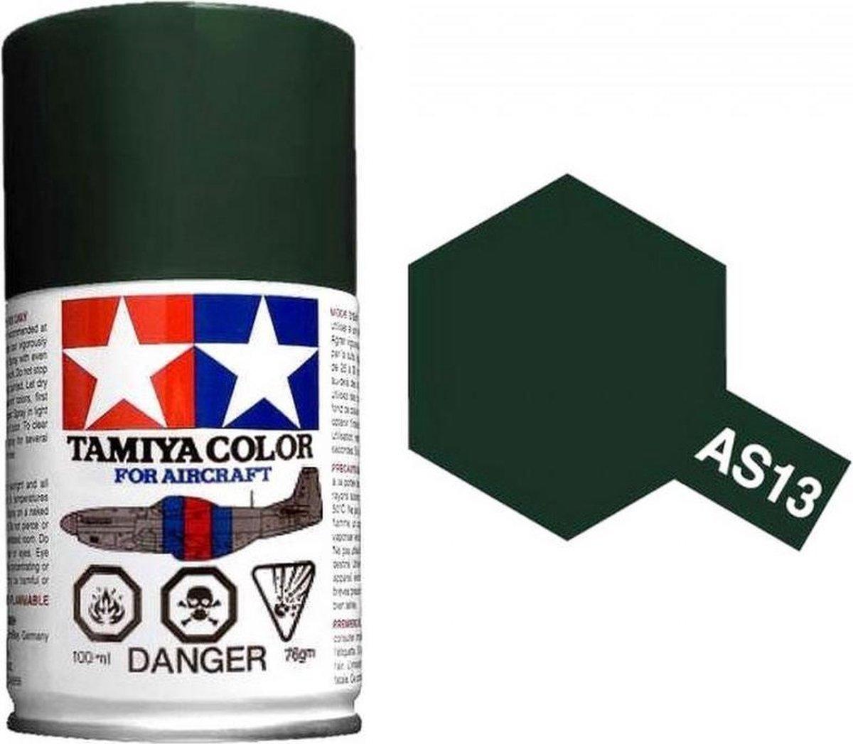 TAMIYA AS-13 USAF groen (spuitbus 100ml)