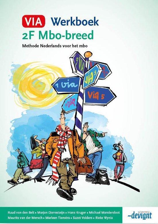 VIA - 2F mbo-breed - Werkboek - Ruud van den Belt | Fthsonline.com
