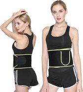 Cicooda Afslank gordel voor doeltreffend vermageren met mobielhouder -Sauna Belt – Buik Trainer – Fitness Steunband – Man/vrouw