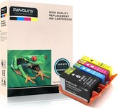ReYours® huismerk Inktcartridge voor HP903XLBK 903