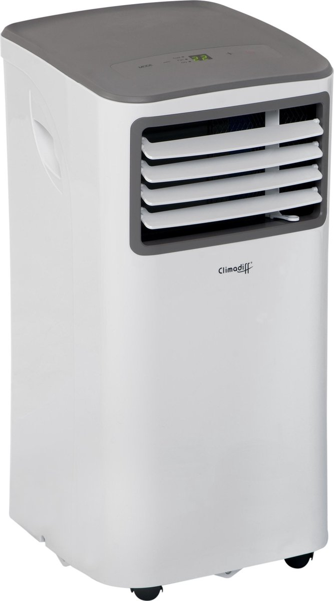 Climadiff CLIMA7K1 - Mobiele airconditioner - 14m2 - 7.000 BTU - Wit