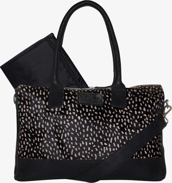 Product: MOZZ Luiertas Wild Ones Zwart-Dots Reverse, van het merk Mozz Bags