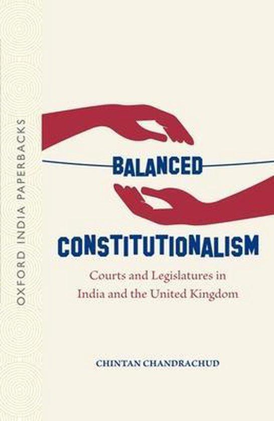 Boek cover Balanced Constitutionalism van Chintan Chandrachud (Paperback)