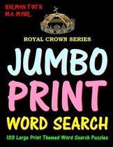 Jumbo Print Word Search