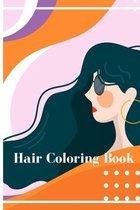 Hair coloring book