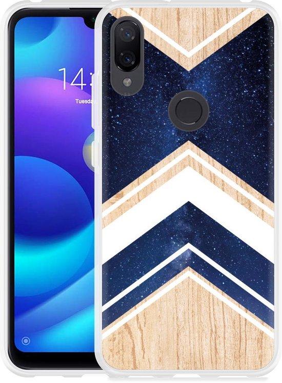 Xiaomi Mi Play Hoesje Space wood