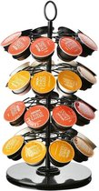 KitchenMoments® Dolce Gusto Capsulehouder - 360 Graden Draaibaar - Cuphouder - 36 Capsules - Zwart