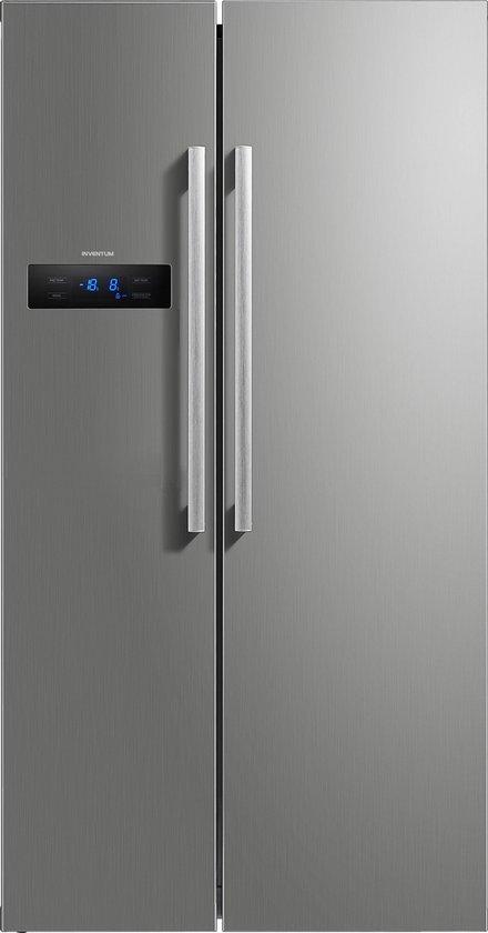 Koelkast: Inventum SKV1784R - Amerikaanse koelkast - RVS, van het merk Inventum