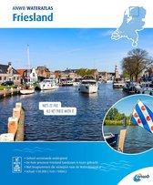ANWB Waterkaart - Wateratlas Friesland 2020