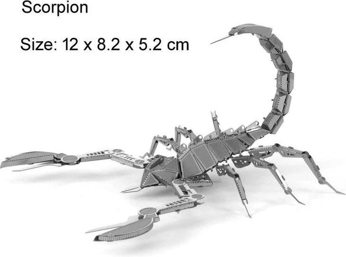 Schorpioen - 3D metalen puzzel