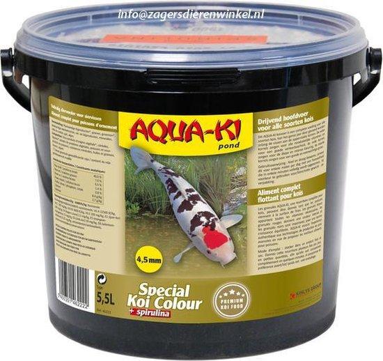 Aqua-Ki Koi Kleur Vijverkorrels - 5.5 LTR
