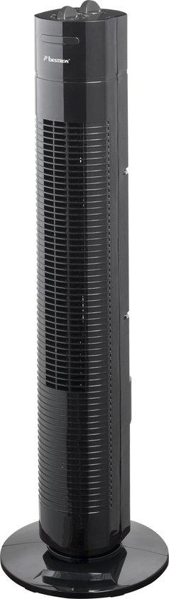 Bestron AFT760Z - Torenventilator - Zwart