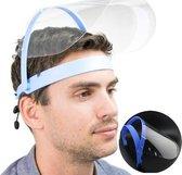 Verstelbare Gezichtscherm - Gelaatscherm - Spatscherm - Gelaatmasker - FACE SHIELD - Beschermkap voor gezicht - bacterie - veiligheidsmasker - mondkap