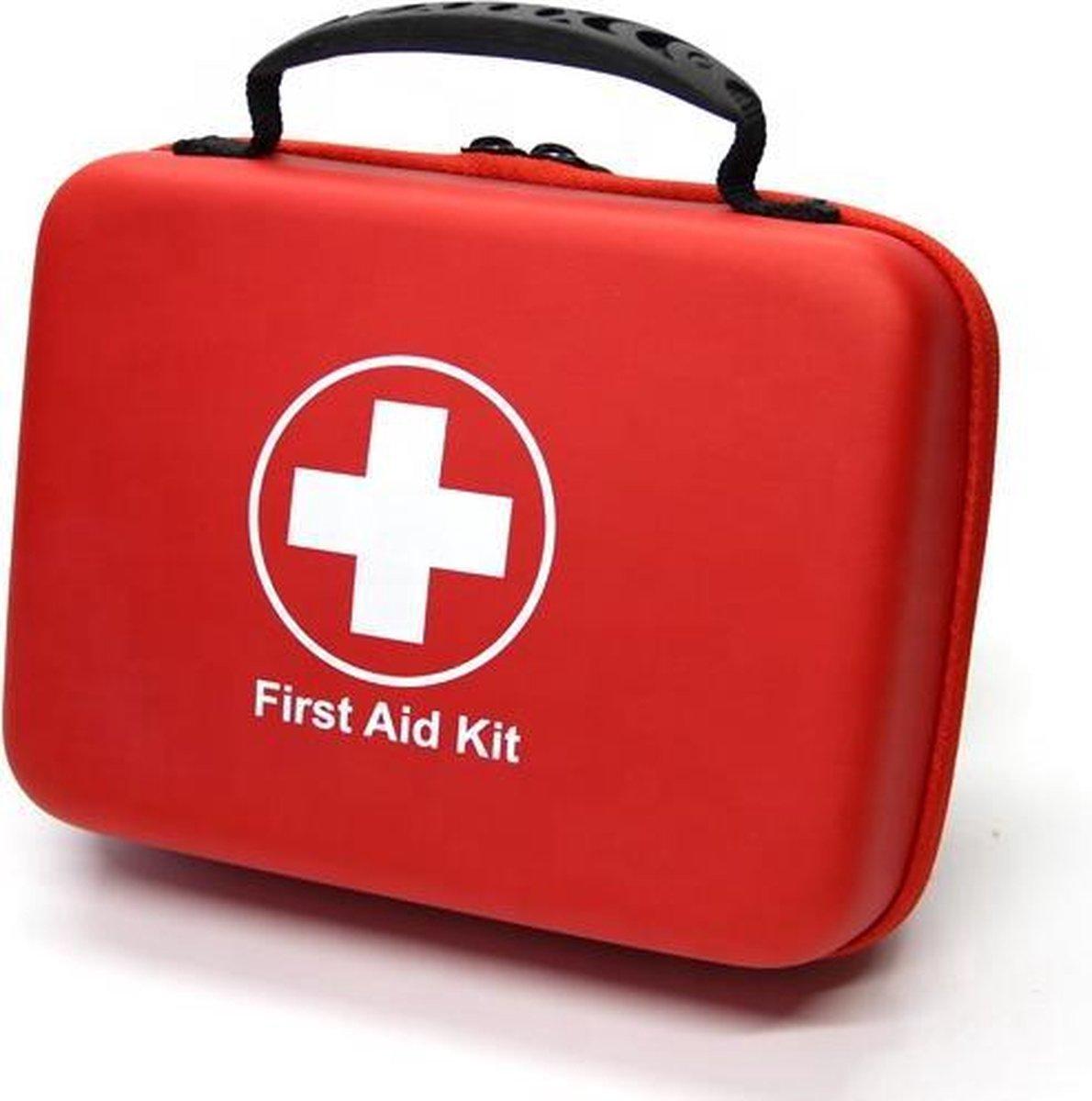 Tiede EHBO kit - First aid kit - Pleisters, Dekens & Verband in   n - Verbanddoos met 228 Items