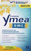 Ymea Overgang 8 in 1 – Ondersteunt bij 8 overgangsverschijnselen – Overgang tabletten – Overgang producten - Voedingssupplement - 64 capsules