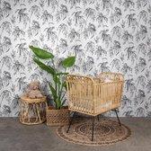 Baby Bed met Matras - Naturel Rotan - 93×57×92cm - Ledikant