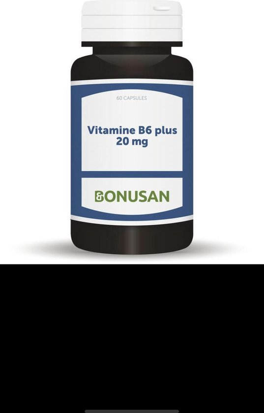 Bonusan Vitamine B6 plus 20 mg 60 capsules