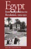 Boek cover Egypt From Independence To Revolution, 1919-1952 van Selma Botman