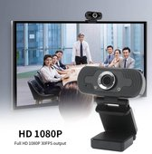 vaderdag kado - Webcam 1080P Full HD | Webcam met microfoon | Webcam voor pc met USB | Webcams | Meeting | Conference | Telewerken | Thuiswerken | Vergaderen | Zakelijke webcam | Familie webcam
