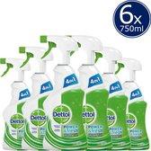 Dettol Power & Fresh Spray Allesreiniger - 6 x 750ml - Voordeelverpakking