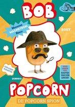 Boek cover De popcorn spion-Bob Popcorn van Maranke Rinck (Hardcover)
