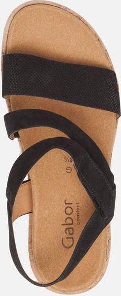Gabor Comfort sandalen zwart - Maat 39 2vDjv
