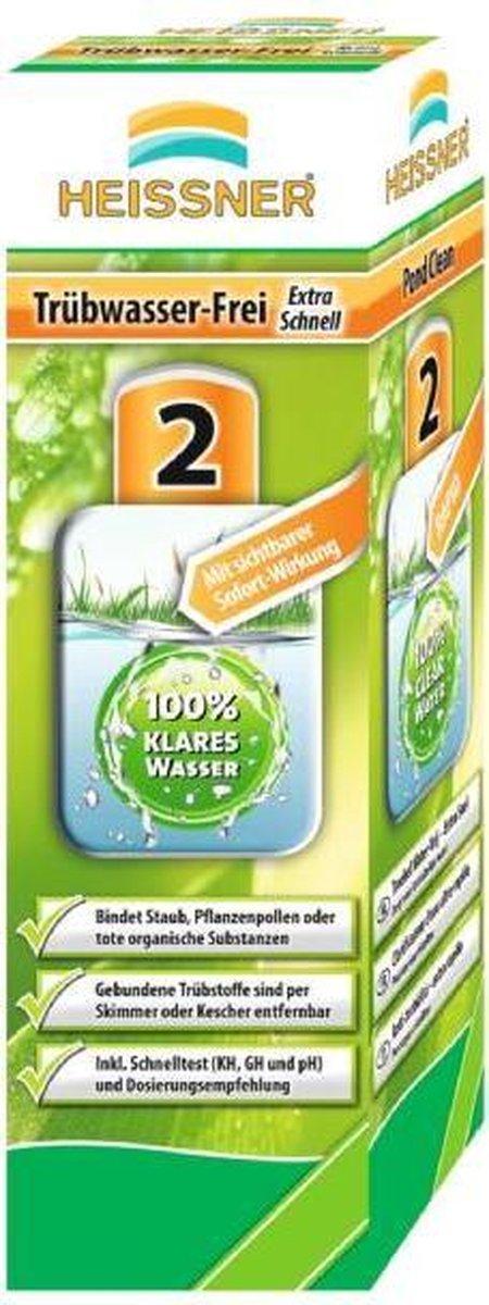 Vijver troebelvrij water extra snel 500 ml ALPC Heissner