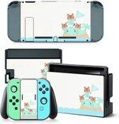 Animal crossing - Nintendo switch - sticker - sticker bundle - Hard Case - Controller Gear- controller sticker - Animal crossing sticker - Bescherming - Nintendo bescherming - Decal Skin Set - Controller Protectie - Grip - Nintendo Switch Case