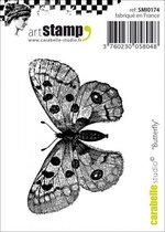 Carabelle cling stamp mini butterfly