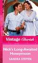 Nick's Long-Awaited Honeymoon (Mills & Boon Vintage Cherish)