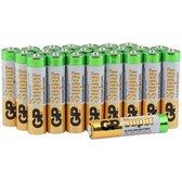 GP Super Alkaline AAA batterijen - 24 stuks