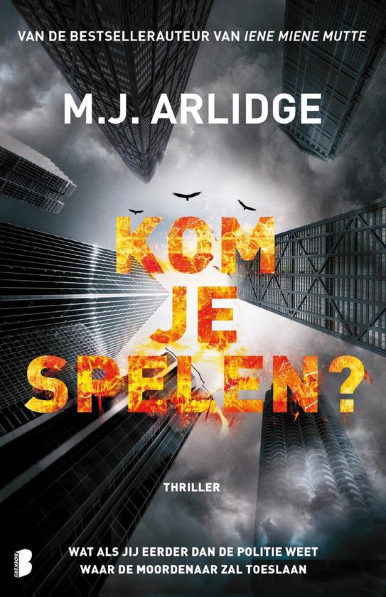 Boek cover Kom je spelen? van M.J. Arlidge (Paperback)