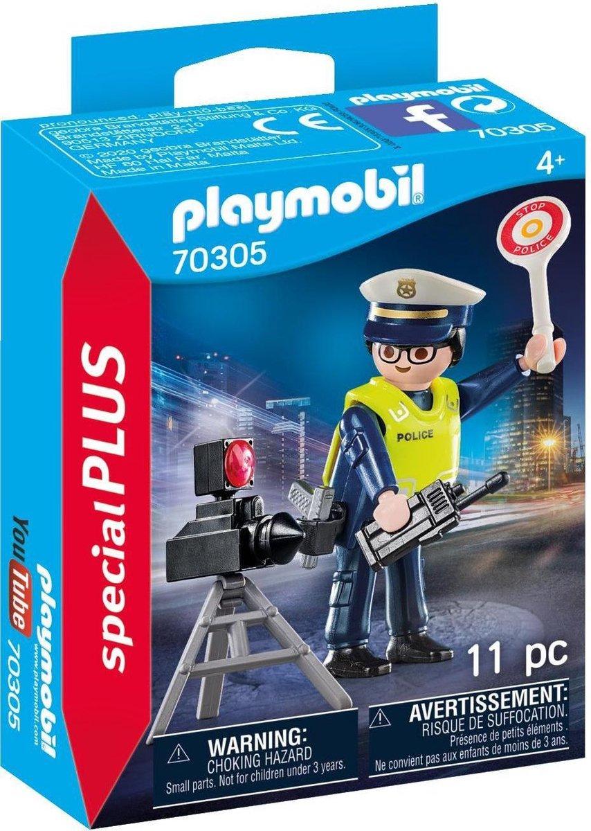PLAYMOBIL Special Plus Politieman met flitcontrole - 70305