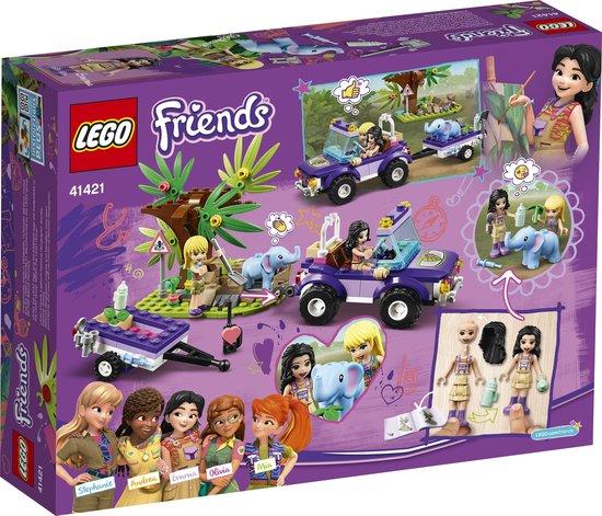 LEGO Friends Reddingsbasis Babyolifant in Jungle - 41421