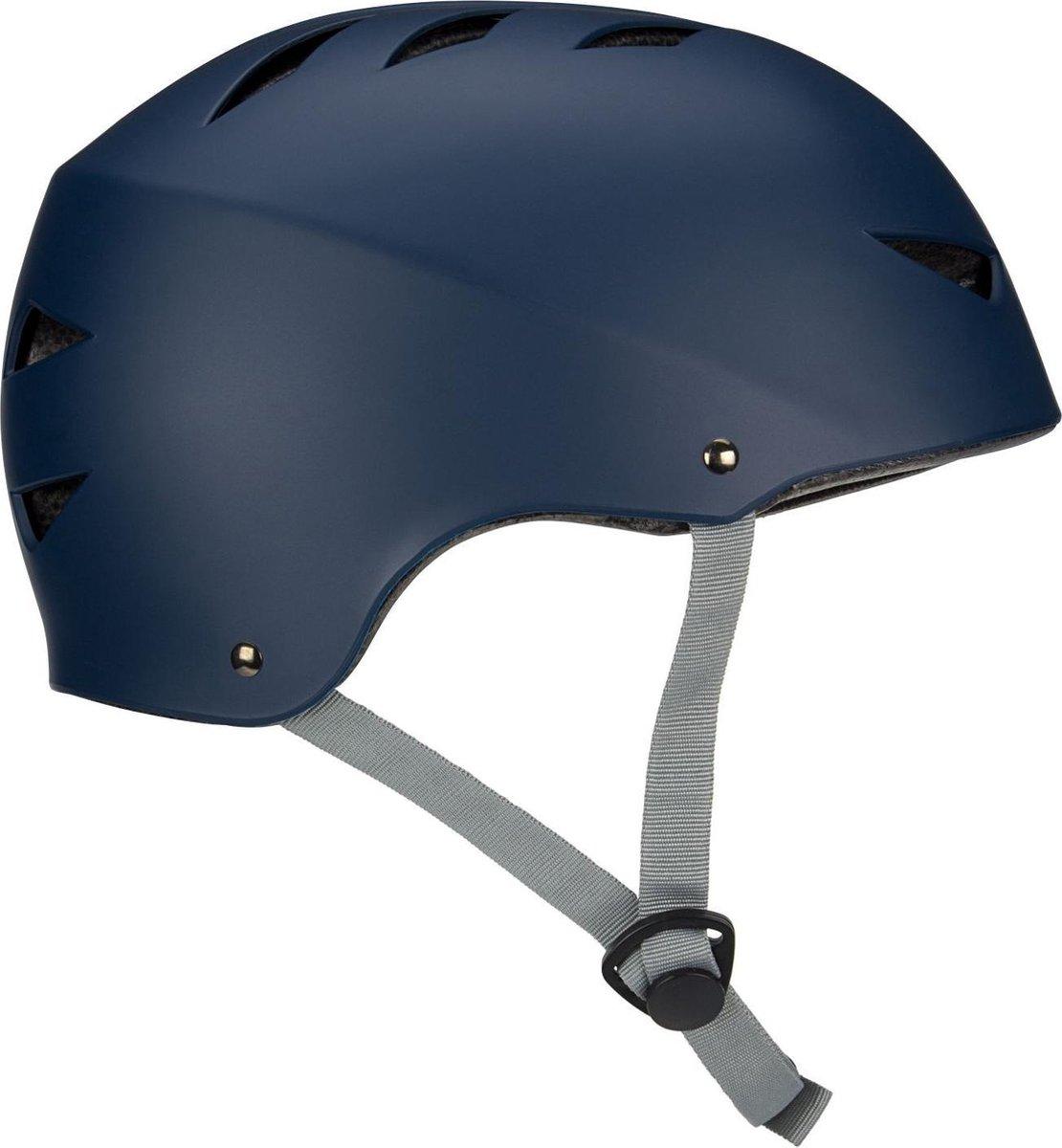 Nijdam Skate Helm - Street Sailor - Marine/Grijs - S