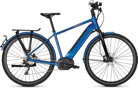 Raleigh Kent 10 High Speed H 53 Cm Deore 10 Sp Laguna Blue