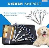 6-Delige Huisdier Knipset - Scharenset - Scharenset Hond - Trimset - Trimset Hond - Trimschaar Voor Honden - Effileerschaar - Effileerschaar Hond - Trimmen Hond - Huisdier Trimmer - Trim accessoires - Hond Knippen - Complete scharenset