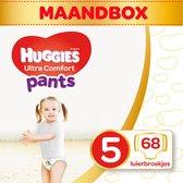 Huggies luierbroekjes - Maat 5 - (12 tot 17 kg) - 68 stuks - Voordeelbox
