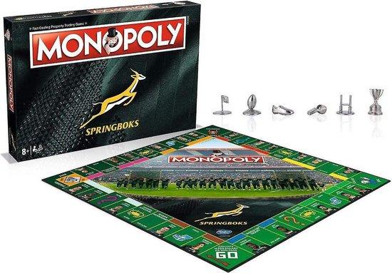 Thumbnail van een extra afbeelding van het spel Springboks Monopoly Board Game