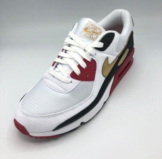 Nike Air 90 - White/Metallic Gold-White - Maat 44